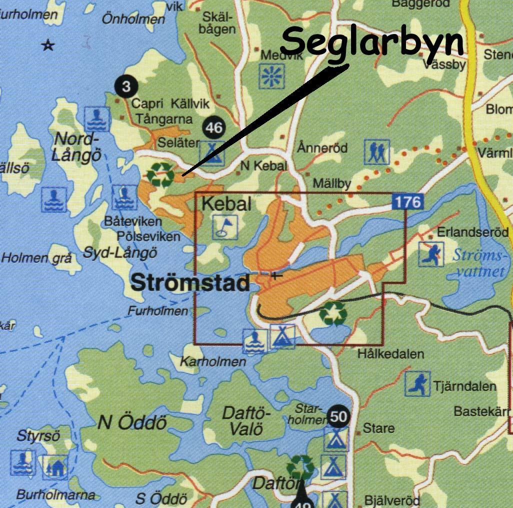 Seglarbyn Den Mysiga Stugbyn
